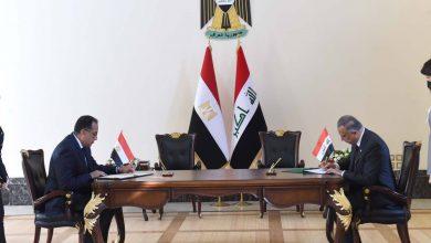 صورة توقيع مذكرة تفاهم بين مصر والعراق فى مجال الاتصالات