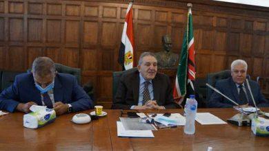 """صورة بالصور.. """"تجارية الإسكندرية"""" تستقبل سفير كينيا لبحث إقامة مركز لوجستى للمنتجات المصرية"""