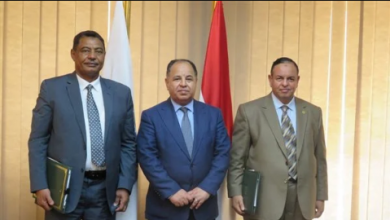 صورة وزير المالية: نتطلع إلى ترسيخ التعاون الاقتصادي مع السودان