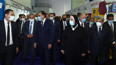 """صورة رئيس الوزراء يفتتح معرض """"أهلاً مدارس"""" بأرض المعارض بمدينة نصر"""