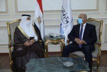 صورة وزير النقل يستقبل نظيره السعودي لبحث تدعيم التعاون بين الجانبين